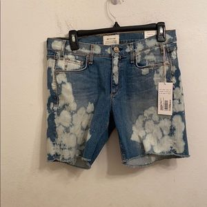 McGuire size 27 blue jean shorts NWT